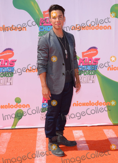 Apolo Ono Photo - 17 July 2014 - Los Angeles California - Apolo Ono Arrivals for the Nickelodeon Kids Choice Sports Awards 2014 held at UCLAs Pauley Pavilion in Los Angeles Ca Photo Credit Birdie ThompsonAdMedia