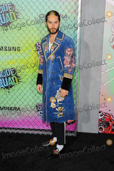 Jared Leto Photo - 01 August 2016 - New York New York - Jared Leto Suicide Squad World Premiere Photo Credit Mario SantoroAdMedia