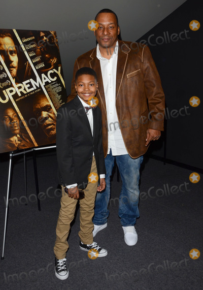 Alex Henderson Photo - 22 January 2015 - Los Angeles California - Alex Henderson Deon TaylorLos Angeles special screening of SUPREMACY held at Landmark West LA Theater Photo Credit Birdie ThompsonAdMedia