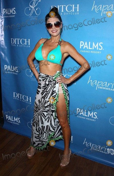 Adriana DeMoura Photo - 08 June 2013 - Las Vegas NV -  Adriana DeMoura Joanna Krupa hosts Bikini Line Launch at Ditch Saturdays at Palms Pool at Palms Casino ResortPhoto Credit mjtAdMedia