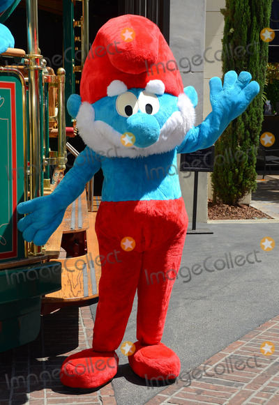 Papa Smurf Photo - 22 June 2013 - Los Angeles Ca - Papa Smurf The Global Smurfs Day celebration at The Grove in Los Angeles Ca Photo Credit BirdieThompsonAdMedia