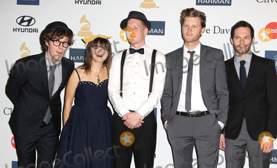 Stelth Ulvang Photo - 09 February 2013 - Beverly Hills California - Stelth Ulvang Neyla Pekarek Jeremiah Fraites Wesley Schultz and Ben Wahamaki The Lumineers Clive Davis And The Recording Academys 2013 GRAMMY Salute To Industry Icons Gala held at The Beverly Hilton Hotel Photo Credit Kevan BrooksAdMedia