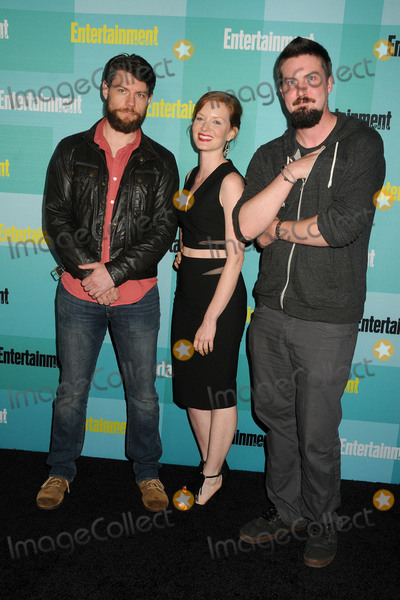 Adam Wingard Photo - 11 July 2015 - San Diego California - Patrick Fugit Wrenn Schmidt Adam Wingard Entertainment Weekly 2015 Comic-Con Celebration held at Float at the Hard Rock Hotel Photo Credit Byron PurvisAdMedia