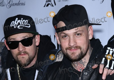 Mike The Situation Sorrentino Photo - 30 December 2011 - Las Vegas Nevada - Joel Madden Benji Madden  Mike The Situation Sorrentino hosts and Good Charlotte performs at Chateau Nightclub inside Paris Las Vegas  Photo Credit MJTAdMedia