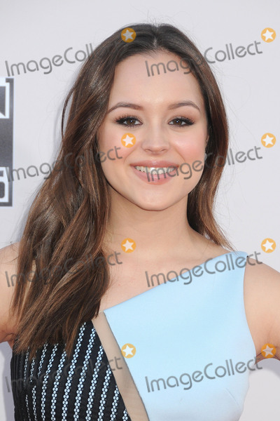 Hayley Orrantia Photo - 22 November 2015 - Los Angeles California - Hayley Orrantia 2015 American Music Awards - Arrivals held at Microsoft Theater Photo Credit Byron PurvisAdMedia
