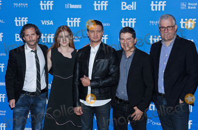 Aaron Ryder Photo - 12 September 2016 - Toronto Ontario Canada - Aaron Ryder Amy Adams Jeremy Renner Dan Levine and David Linde Arrival Photocall during the 2016 Toronto International Film Festival held at TIFF Bell Lightbox Photo Credit Brent PerniacAdMedia