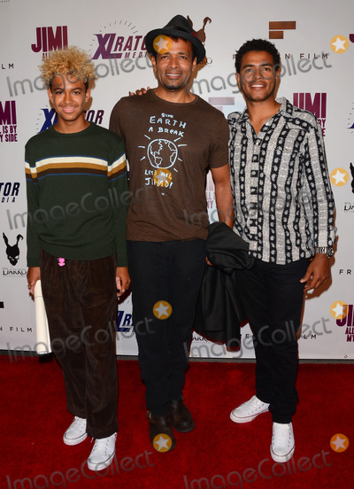 Mandela Van Peebles Photo - 22 September 2014 - Hollywood California - Marley Van Peebles Mario Van Peebles Mandela Van Peebles Arrivals for the special Los Angeles screening of Jimi All Is By My Side held at The ArcLight Cinemas in Hollywood Ca Photo Credit Birdie ThompsonAdMedia