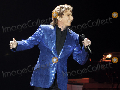 Barry Manilow Photo - April 27 2013 - Duluth GA - Pop superstar Barry Manilow brought his Manilow on Broadway Tour to the Gwinnett Arena in Duluth GA where he performed his numerous hits and more for the packed venue Photo credit Dan HarrAdMedia