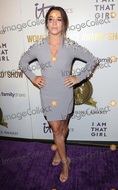 Aly Raisman Photo - 17 May 2017 - Hollywood California - Aly Raisman 2017 Womens Choice Award Show Photo Credit AdMedia