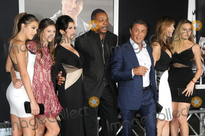 Carl Weathers Photo - 19 November 2015 - Westwood California - Sistine Rose Stallone Sophia Rose Stallone Carl Weathers Sylvester Stallone Jennifer Flavin Scarlet Rose Stallone Creed Los Angeles Premiere held at the Regency Village Theatre Photo Credit Byron PurvisAdMedia