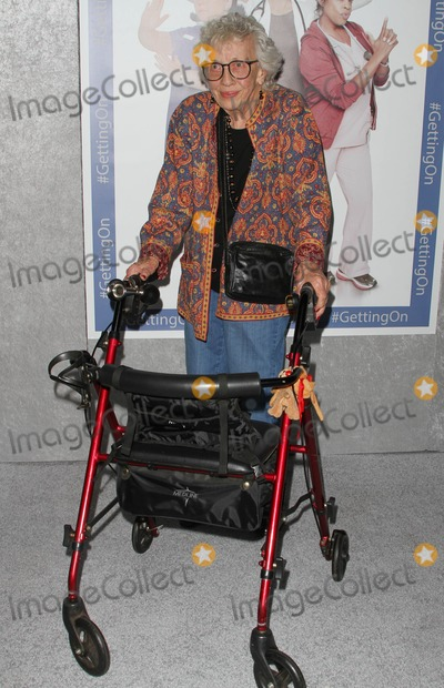 Ann Guilbert Photo - 28 October 2014 - Hollywood California - Ann Guilbert HBOs comedy Series Getting On Season 2 Los Angeles Premiere held at Avalon Hollywood Photo Credit AdMedia