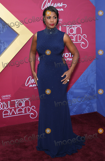 Omarosa Photo - 06 November 2016 - Las Vegas Nevada - Omarosa Soul Train Awards 2016 Red Carpet at the Orleans Arena  Photo Credit MJTAdMedia