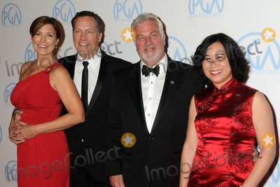 Christina Lee Photo - 21 January 2012 - Beverly Hills California - Kathrin Middleton Richard Middleton Antoine de Cazotte Christina Lee Storm 23rd Annual Producers Guild Awards held at the Beverly Hilton Hotel Photo Credit Byron PurvisAdMedia