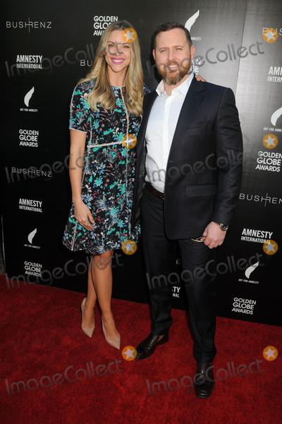 AJ Buckley Photo - 8 January 2016 - West Hollywood California - Abigail Ochse AJ Buckley 1st Annual Art for Amnesty Pre-Golden Globes Brunch held at Chateau Marmont Photo Credit Byron PurvisAdMedia