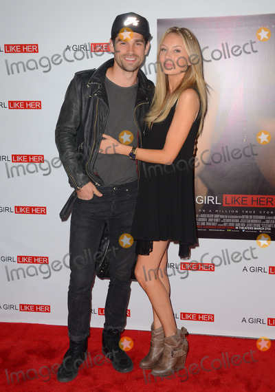Melissa Ordway Photo - 27 March 2015 - Hollywood California - Justin Gaston Melissa Ordway Arrivals for the Los Angeles premiere of A Girl Like Her held at ArcLight Hollywood Photo Credit Birdie ThompsonAdMedia
