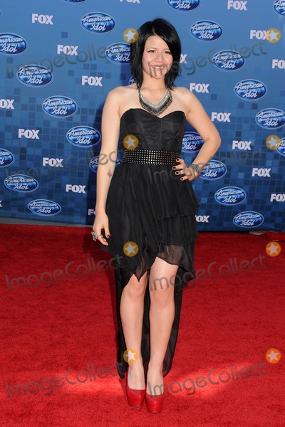 Allison Iraheta Photo - 25 May 2011 - Los Angeles California - Allison Iraheta American Idol 2011 Finale - Arrivals held at Nokia Theatre LA Live Photo Credit Byron PurvisAdMedia