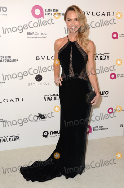 ARIELE KEBBEL Photo - 28 February 2016 - West Hollywood California - Arielle Kebbel 24th Annual Elton John Academy Awards Viewing Party sponsored by Bvlgari MAC Cosmetics Neuro Drinks and Diana Jenkins held at West Hollywood Park Photo Credit Birdie ThompsonAdMedia
