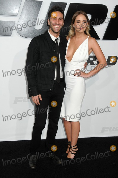 Nev Schulman Photo - 1 April 2015 - Hollywood California - Nev Schulman Tully Smyth Furious 7 Los Angeles Premiere held at the TCL Chinese Theatre Photo Credit Byron PurvisAdMedia