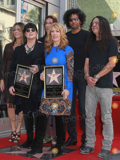 Jerry Cantrell Photo - 25 September 2012 - Hollywood California - Rita Wilson Ann  Nancy Wilson of Heart with members William Duvall Sean Kinney Jerry Cantrell and Mike Inez of Alice in Chains Ann Wilson Nancy Wilson Heart is honored with a Hollywood Star Held On The Hollywood Walk of Fame Hollywood Photo Credit Kevan BrooksAdMedia