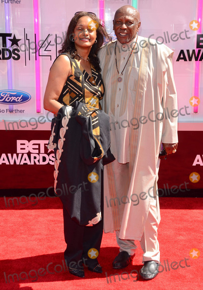 Louis Gossett Jr Photo - 29 June 2014 - Los Angeles California - Louis Gossett Jr  Arrivals for the 2014 BET AWARDS held at the Nokia Theater LA Live in Los Angeles Ca Photo Credit Birdie ThompsonAdMedia