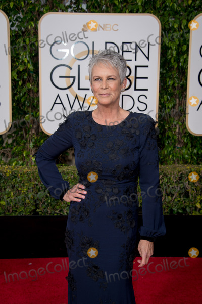 Jamie Lee Curtis Photo - Nominated for BEST PERFORMANCE BY AN ACTRESS IN A TELEVISION SERIES  COMEDY OR MUSICAL for her role in Scream Queens actress Jamie Lee Curtis attends the 73rd Annual Golden Globes Awards at the Beverly Hilton in Beverly Hills CA on Sunday January 10 2016 Photo Credit HFPAAdMedia