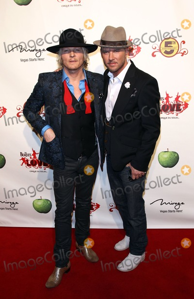 Matt  Goss Photo - 08 June 2011 - Las Vegas Nevada - Matt Sorum Matt Goss  The Beatles LOVE by Cirque du Soleil Fifth Anniversary Celebration at The Mirage  Photo Credit MJTAdMedia