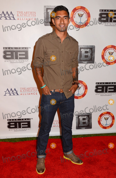 AJ Delagarza Photo - 15 July 2013 - Los Angeles Ca - AJ DeLaGarza 8th Annual BTE All-Star Celebrity Kick-Off Party at Playboy Mansion in Los Angeles Ca Photo Credit BirdieThompsonAdMedia