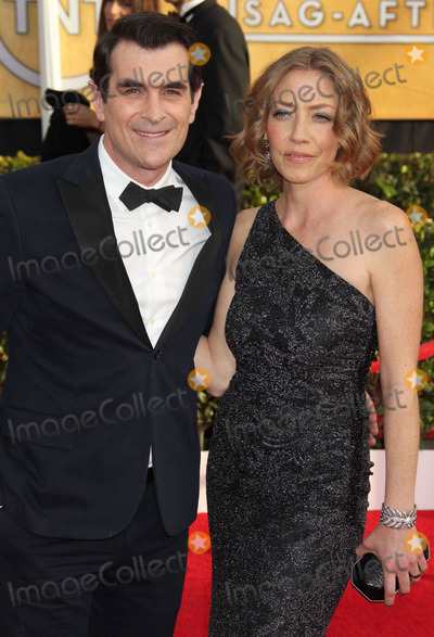 Anne Brown Photo - 18 January 2014 - Los Angeles California - Ty Burrell wife Holly Anne Brown 20th Annual Screen Actors Guild Awards held at The Shrine Auditorium Photo Credit Russ ElliotAdMedia