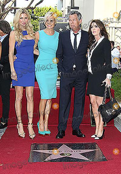 Yolanda Hadid Photo - 31 May 2013 - Hollywood California - Brandi Glanville Yolanda Hadid David Foster David Foster is honored with a star on the Hollywood Walk of Fame Photo Credit Russ ElliotAdMedia