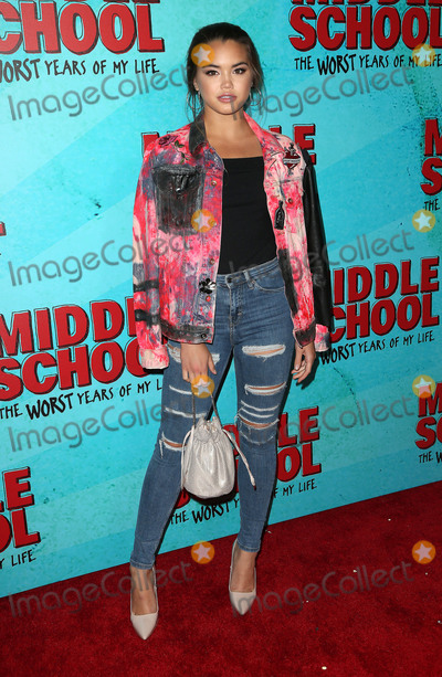 Paris Berelc Photo - 05 October 2016 - Hollywood California - Paris Berelc Middle School The Worst Years Of My Life Los Angeles Premiere held at TCL Chinese 6 Theatres Photo Credit F SadouAdMedia