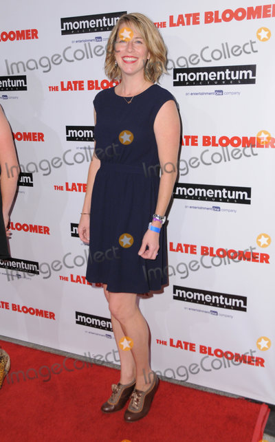Ann Tierney Photo - 03 October 2016 - Westwood California Ann Tierney Premiere Of Momentum Pictures The Late Bloomer  held at iPic Theaters Westwood Photo Credit Birdie ThompsonAdMedia