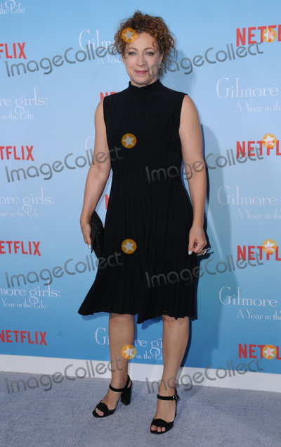 Alex Kingston Photo - 18 November 2016 - Westwood California Alex Kingston Premiere Of Netflixs Gilmore Girls A Year In The Life held at the Regency Bruin Theatre Photo Credit Birdie ThompsonAdMedia