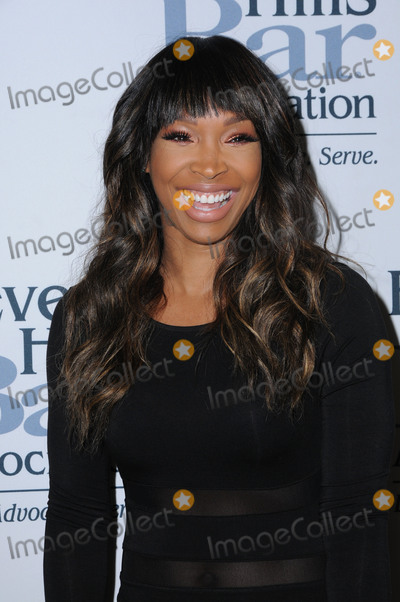 Malika Haqq Photo - 17 May 2016 - Beverly Hills California - Malika Haqq Arrivals for the 2016 Entertainment Lawyer of the Year held at the Beverly Hilton Hotel Photo Credit Birdie ThompsonAdMedia