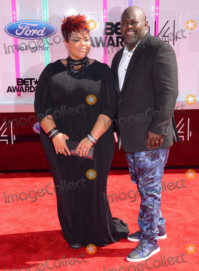 David Mann Photo - 29 June 2014 - Los Angeles California - Tamela J Mann David Mann Arrivals for the 2014 BET AWARDS held at the Nokia Theater LA Live in Los Angeles Ca Photo Credit Birdie ThompsonAdMedia