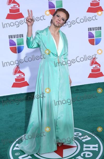 Silvia Navarro Photo - 10 November 2011 - Las Vegas Nevada - Silvia Navarro   2011 Latin Grammy Awards Arrivals at Mandalay Bay Resort Hotel and Casino  Photo Credit MJTAdMedia