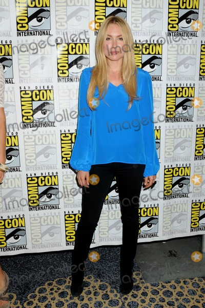 Sarah Carter Photo - 13 July 2012 - San Diego California - Sarah Carter Falling Skies Press Room at Comic Con 2012 held at the Bayfront Hotel Photo Credit Byron PurvisAdMedia