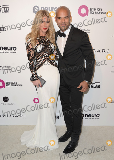 Amaury Nolasco Photo - 28 February 2016 - West Hollywood California - Hofit Golan Amaury Nolasco 24th Annual Elton John Academy Awards Viewing Party sponsored by Bvlgari MAC Cosmetics Neuro Drinks and Diana Jenkins held at West Hollywood Park Photo Credit Birdie ThompsonAdMedia