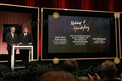 Ang Lee Photo - 14 January 2016 - Beverly Hills California - Ang Lee Guillermo del Toro Category Makeup  Hairstyling 88th Annual Oscars Nominations Announcement held at the Samuel Goldwyn Theater Photo Credit Byron PurvisAdMedia