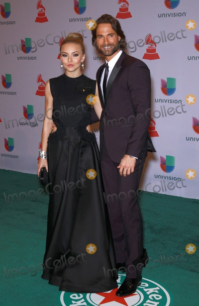 Sebastian Rulli Photo - 20 November 2014 - Las Vegas Nevada -  Angelique Boyer Sebastian Rulli  15th Annual Latin Grammy Arrivals at MGM Grand Garden Arena  Photo Credit MJTAdMedia