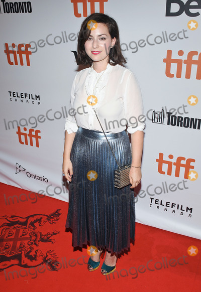 Amira Casar Photo - 10 September 2016 - Toronto Ontario Canada - Amira Casar  Planetarium Premiere - 2016 Toronto International Film Festival held at Roy Thomson Hall Photo Credit Brent PerniacAdMedia