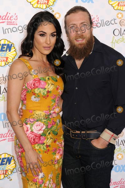 Daniel Bryan Photo - 10 August 2014 - Los Angeles California - Brie Bella Daniel Bryan Teen Choice Awards 2014 - Arrivals held at the Shrine Auditorium Photo Credit Byron PurvisAdMedia