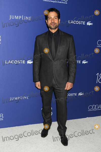 Adam Rodriguez Photo - 23 February 2016 - Beverly Hills California - Adam Rodriguez 18th Annual Costume Designers Guild Awards held at the Beverly Hilton Hotel Photo Credit Byron PurvisAdMedia