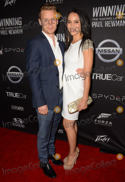 Maya Stojan Photo - 16 April 2015 - Hollywood California - Jesse Luken Maya Stojan Los Angeles premiere of Winning The Racing Life of Paul Newman held at El Capitan Theater Photo Credit Birdie ThompsonAdMedia