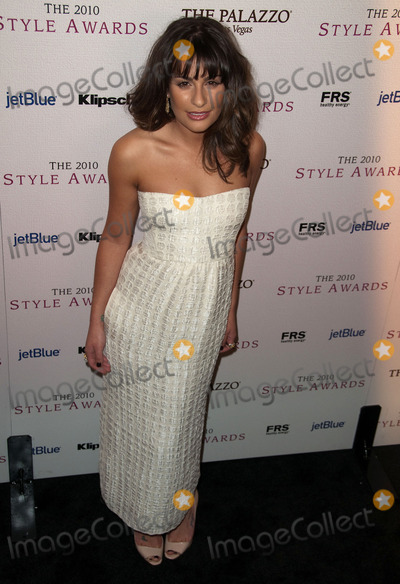 Lea Michele Photo - 12 December 2010 - Los Angeles California - Lea Michele 2010 Hollywood Style Awards held at The Billy Wilder Theater at the Hammer Museum Photo Jay SteineAdMedia