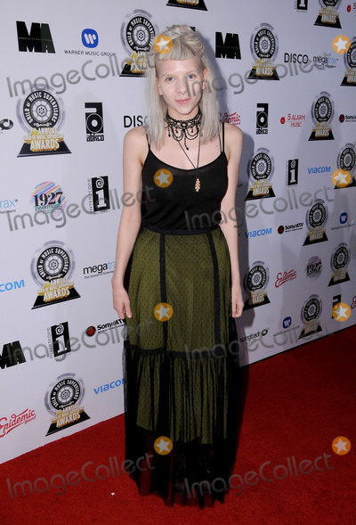 Aurora Photo - 16 February 2017 - Los Angeles California - Aurora  7th Annual Guild of Music Supervisors Awards held at The Theater at Ace Hotel Photo Credit Birdie ThompsonAdMedia
