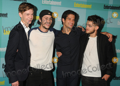 Tyler Posey Photo - 11 July 2015 - San Diego California - Thomas Brodie-Sangster Dylan OBrien Tyler Posey Cody Christian Entertainment Weekly 2015 Comic-Con Celebration held at Float at the Hard Rock Hotel Photo Credit Byron PurvisAdMedia