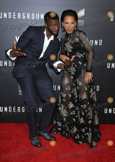 Amirah Vann Photo - 02 March 2016 - Los Angeles California - Aldis Hodge Amirah Vann Underground Los Angeles Premiere held at The Theatre At The Ace Hotel Photo Credit Winston BurrisAdMedia