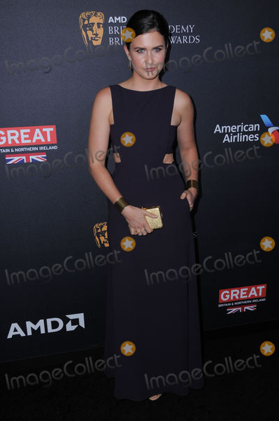 Amber Hodgkiss Photo - 28 October 2016 - Beverly Hills California Amber Hodgkiss 2016 AMD British Academy Britannia Awards Presented by Jaguar Land Rover And American Airlines held at Beverly Hilton Hotel Photo Credit Birdie ThompsonAdMedia