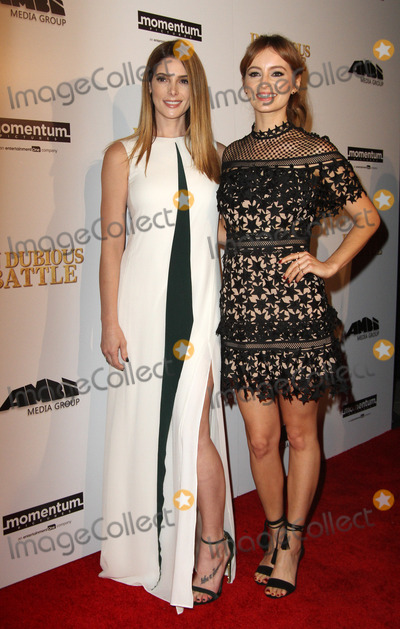 Ashley Greene Photo - 15 February 2017 - Los Angeles California - Ashley Greene and Ahna OReilly In Dubious Battle Los Angeles Premiere held at the ArcLight Hollywood Theatre in Hollywood Photo Credit AdMedia