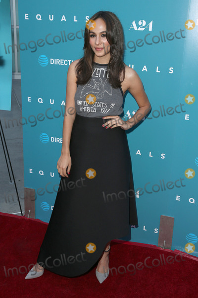 Aurora Perrineau Photo - 07 July 2016 - Hollywood California - Aurora Perrineau Equals Los Angeles Premiere held at ArcLight Hollywood Photo Credit SammiAdMedia